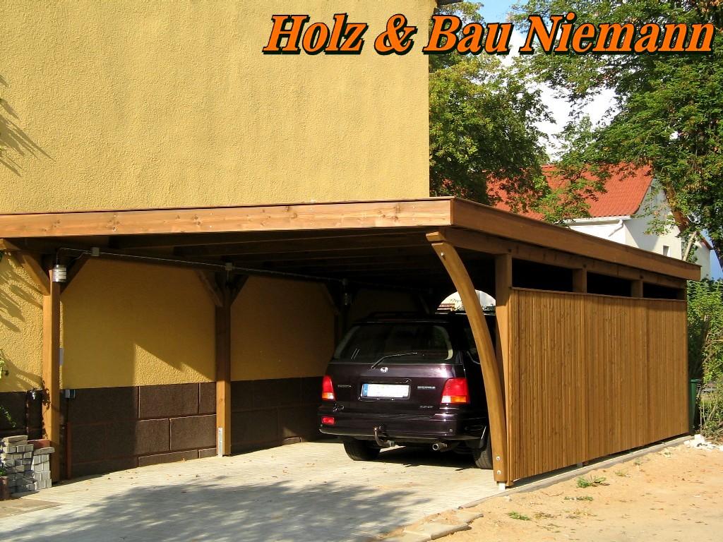 Prächtig Holz & Bau Niemann, Carport &PS_65